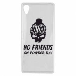 Чехол для Sony Xperia X No friends on powder day - FatLine