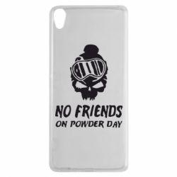 Чехол для Sony Xperia XA No friends on powder day - FatLine