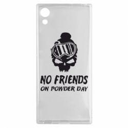 Чехол для Sony Xperia XA1 No friends on powder day - FatLine