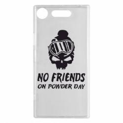 Чехол для Sony Xperia XZ1 No friends on powder day - FatLine