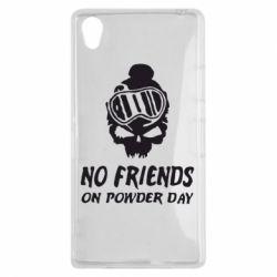 Чехол для Sony Xperia Z1 No friends on powder day - FatLine