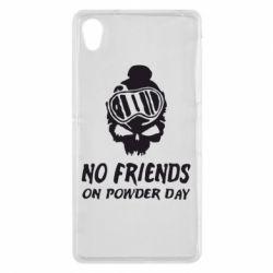 Чехол для Sony Xperia Z2 No friends on powder day - FatLine
