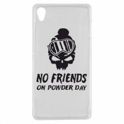 Чехол для Sony Xperia Z3 No friends on powder day - FatLine