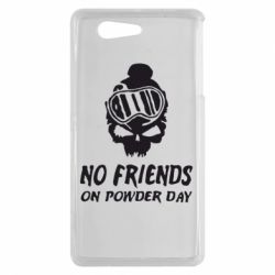 Чехол для Sony Xperia Z3 mini No friends on powder day - FatLine