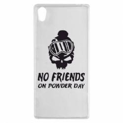 Чехол для Sony Xperia Z5 No friends on powder day - FatLine