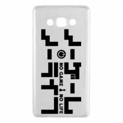 Чохол для Samsung A7 2015 No Game No Life logo