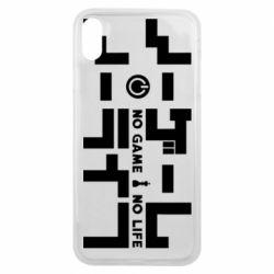 Чохол для iPhone Xs Max No Game No Life logo