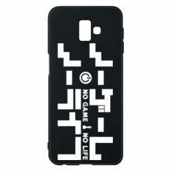 Чохол для Samsung J6 Plus 2018 No Game No Life logo