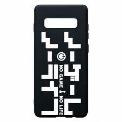 Чохол для Samsung S10+ No Game No Life logo