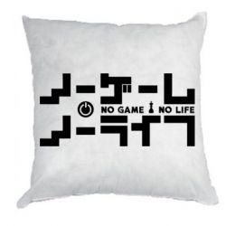 Подушка No Game No Life logo