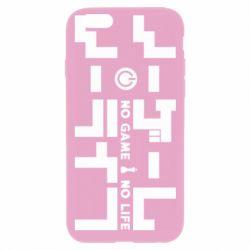 Чохол для iPhone 6 Plus/6S Plus No Game No Life logo