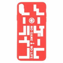 Чохол для iPhone X/Xs No Game No Life logo