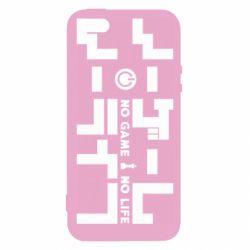 Чохол для iphone 5/5S/SE No Game No Life logo