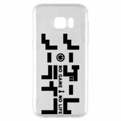 Чохол для Samsung S7 EDGE No Game No Life logo