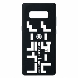 Чохол для Samsung Note 8 No Game No Life logo