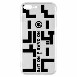 Чохол для iPhone 8 Plus No Game No Life logo