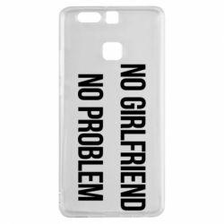 Чехол для Huawei P9 No girlfriend. No problem - FatLine