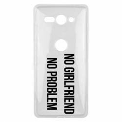 Чехол для Sony Xperia XZ2 Compact No girlfriend. No problem - FatLine