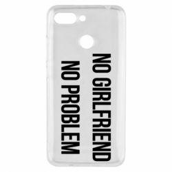Чехол для Xiaomi Redmi 6 No girlfriend. No problem - FatLine