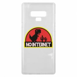 Чехол для Samsung Note 9 No internet jurassic world