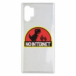Чехол для Samsung Note 10 Plus No internet jurassic world