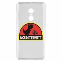Чехол для Xiaomi Redmi Note 4 No internet jurassic world