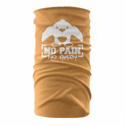 Бандана-труба No pain no gain пингвин