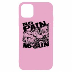 Чехол для iPhone 11 No pain, no gain