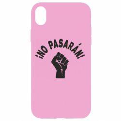Чохол для iPhone XR No Pasaran