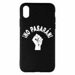 Чохол для iPhone X/Xs No Pasaran