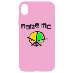 Чохол для iPhone XR Noize MC Logo