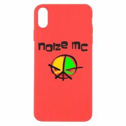 Чохол для iPhone Xs Max Noize MC Logo