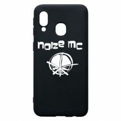 Чохол для Samsung A40 Noize MC Logo