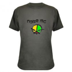 Камуфляжна футболка Noize MC Logo