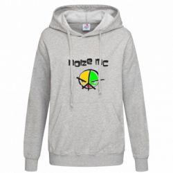 Женская толстовка Noize MC Logo - FatLine