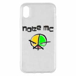 Чохол для iPhone X/Xs Noize MC Logo