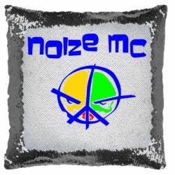 Подушка-хамелеон Noize MC Logo