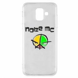 Чохол для Samsung A6 2018 Noize MC Logo