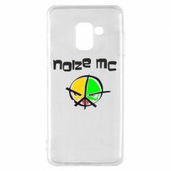 Чохол для Samsung A8 2018 Noize MC Logo