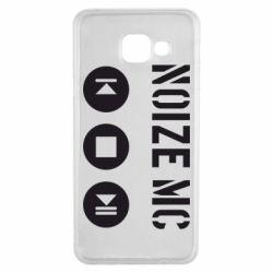 Чохол для Samsung A3 2016 Noize MC-плеєр
