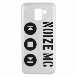 Чехол для Samsung J6 Noize MC player