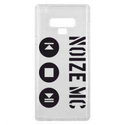 Чехол для Samsung Note 9 Noize MC player