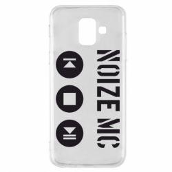 Чехол для Samsung A6 2018 Noize MC player
