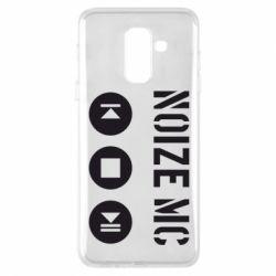 Чехол для Samsung A6+ 2018 Noize MC player
