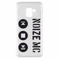 Чехол для Samsung A8 2018 Noize MC player