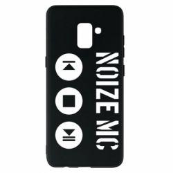 Чохол для Samsung A8+ 2018 Noize MC-плеєр