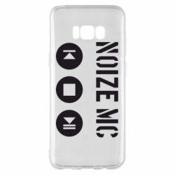 Чехол для Samsung S8+ Noize MC player