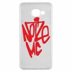 Чехол для Samsung A3 2016 Noize MC