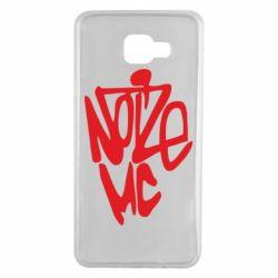 Чехол для Samsung A7 2016 Noize MC