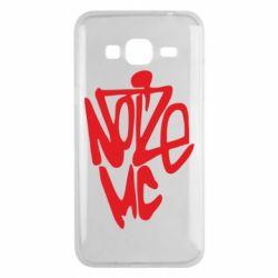 Чехол для Samsung J3 2016 Noize MC